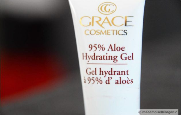 Grace Cosmetics 95% Aloe Hydrating Gel – A Mademoiselle Organic Review