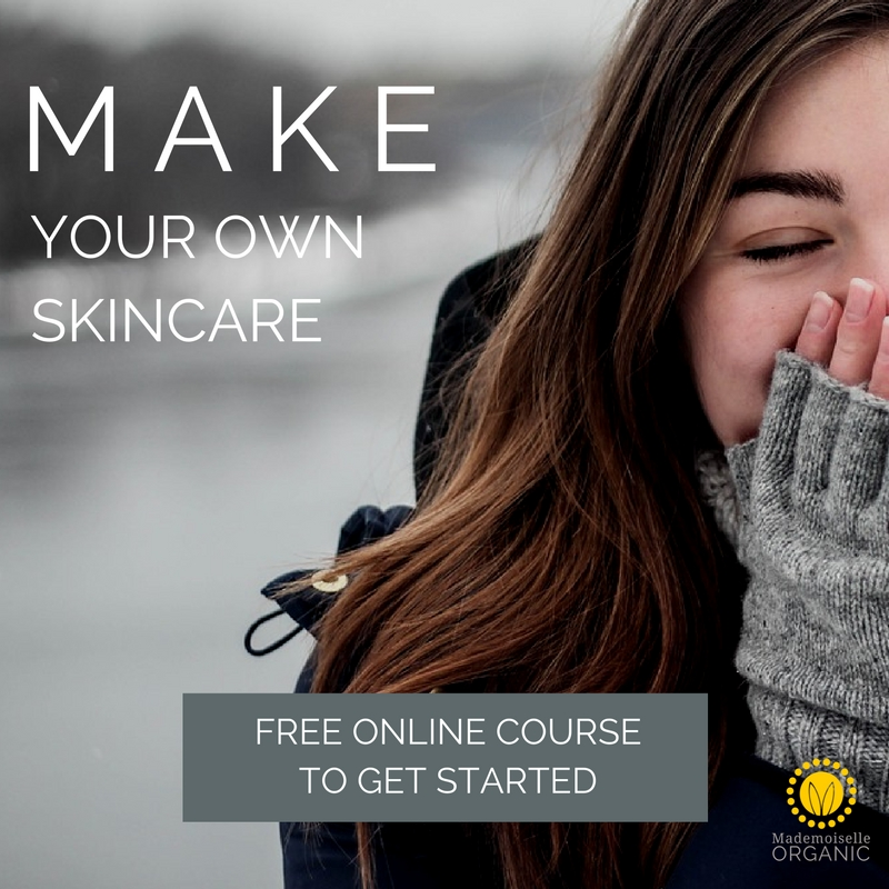Make your own skincare free course