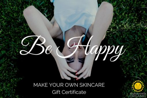 Be Happy Gift Certificate