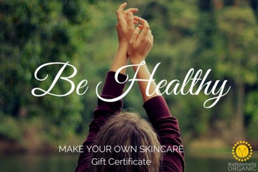 Be Healthy Gift Certificate