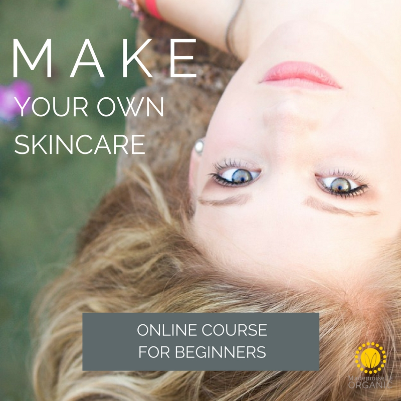 Make your own skincare online course for beginners