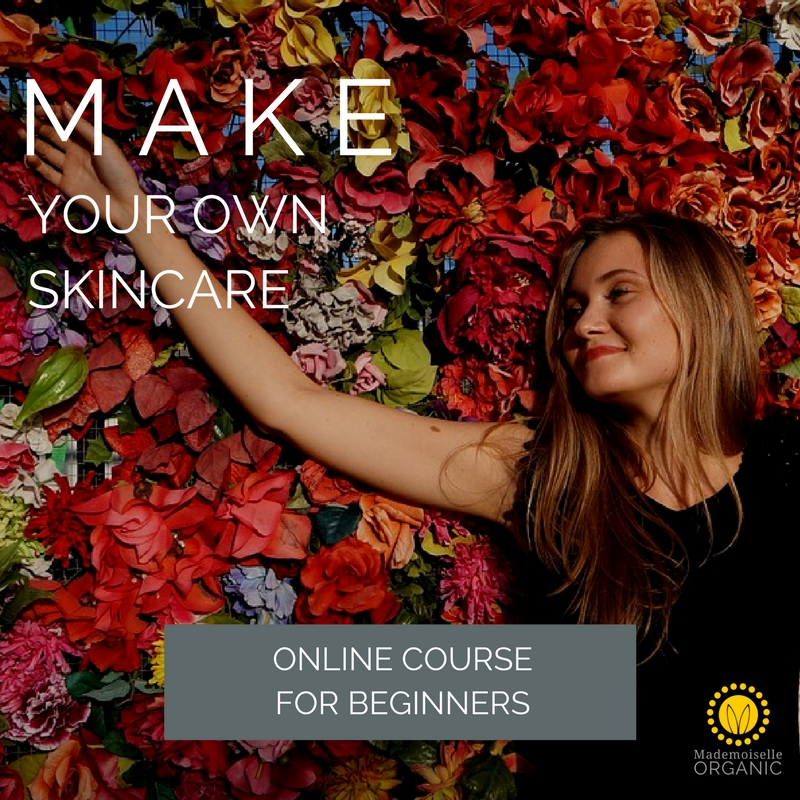 make your own skincare online course