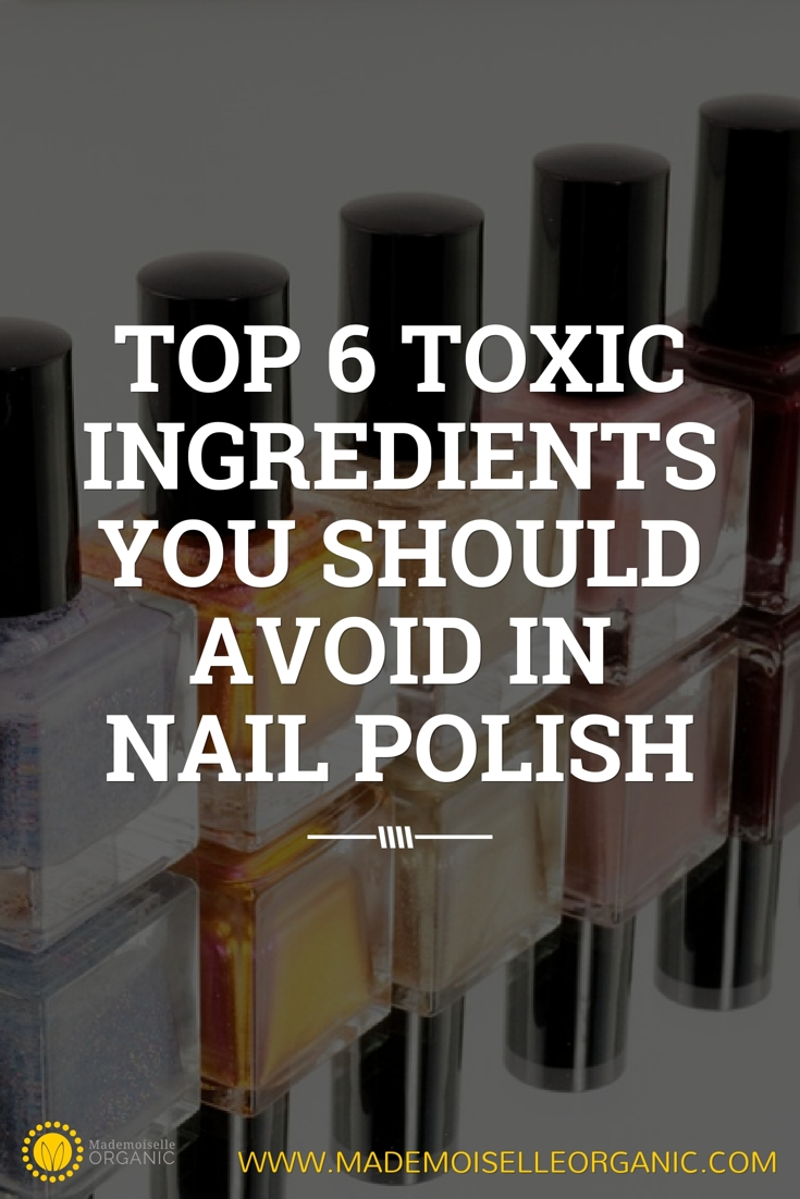 Top 6 toxic ingredients you should avoid in nail polish ...