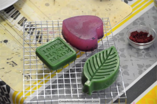 Past Workshops: the Melt and Pour Soap Making Technique