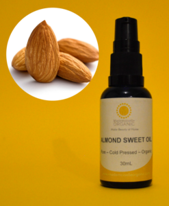 ORGANIC SWEET ALMOND OIL