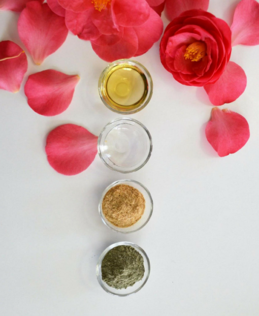 MADEMOISELLE ORGANIC Ingredients to make your own beauty products