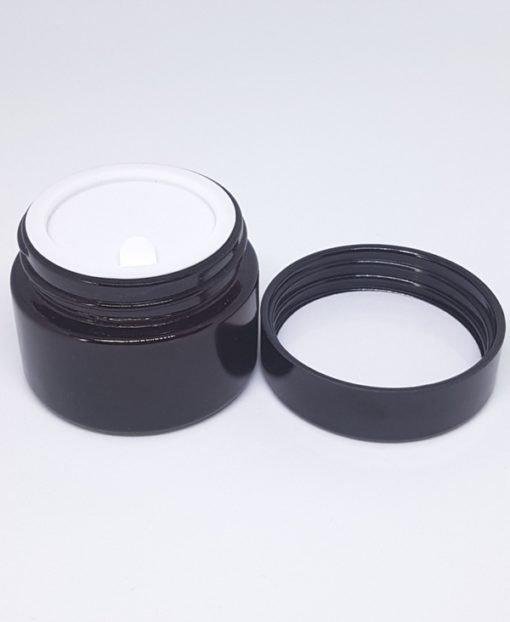 Mademoiselle Organic 30 mL Amber Glass Jar