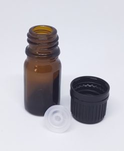 5 mL Amber Glass Bottle