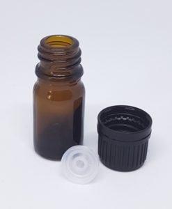 5 mL Amber Glass Bottle