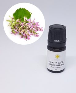 Mademoiselle Organic Clary Sage Essential Oil