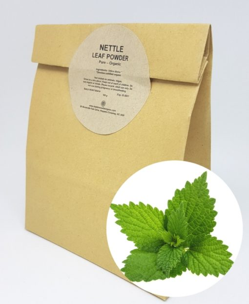 Mademoiselle Organic Nettle Leaf Powder - Organic