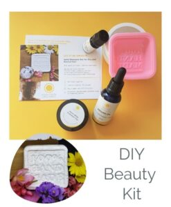 Zero-Waste Solid Shampoo Bar for Dry & Normal Hair - Home DIY Kit